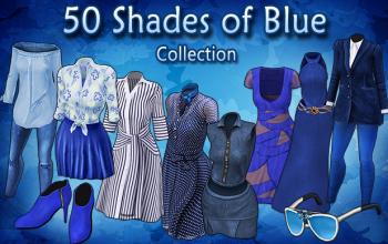 BannerCollection - 50ShadesOfBlue