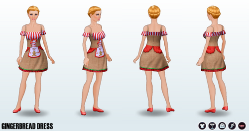 GingerbreadHousingCrisis - Gingerbread Dress
