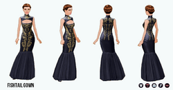 GrandGala - Fishtail Gown