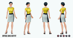 PoshProfessional - Office Chic Outfit