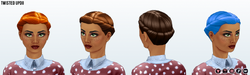 Career - Twisted Updo