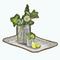 MojitoMoodsDecor - Lemonade Tray