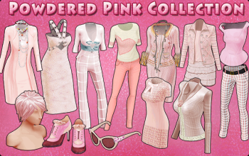 BannerCollection - PowderedPink