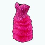 VegasSpreeSpinner - Flamingo Dress