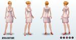 Doppelgangers - Jenna Costume