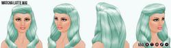 SorbetSocial - Matcha Latte Wig