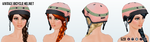 PeddleNotToTheMetal - Vintage Bicycle Helmet