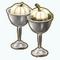 CountryThanksgivingDecor - Silver Pumpkin Vases