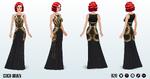 RoaringTwentiesSpin - Coco Gown