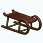 SkiTrip - Sled Coffee Table