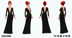 HollywoodGlamour - Vixen Gown
