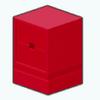 Decor - Small Red Cabinet