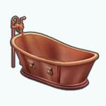 LuxeLifeSpreeSpin - Copper Tub