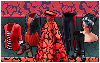 BannerCollection - RedAndBlack