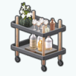 FriendsgivingSpin - Friendsgiving Bar Cart