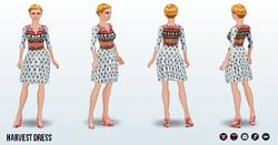 HarvestSpin - Harvest Dress