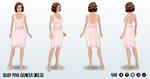 SummerMovieNightSpin - Baby Pink Dancer Dress