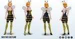 CreepyCostumes - Busy Bee Costume