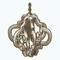 ElegantDiningDecor - Aged Silver Chandelier