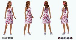 ValentinesDay - Heart Dress
