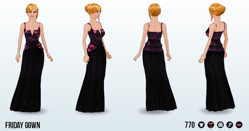 FridayThe13th - Friday Gown