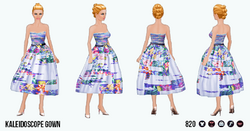 TheVault - Kaleidoscope Gown