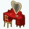 MoulinRougeDecor - Heart Vanity