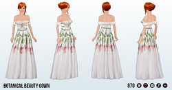 BotanicalBeautySpin - Botanical Beauty Gown