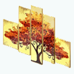 AutumnsAppeal - Foliage Wall Piece