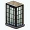 GreenhouseBathroomDecor - Metallic Frame Shower
