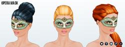 MaskedMagician - Opera Mask