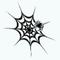 GothicDecor - Black Spiderweb Decal