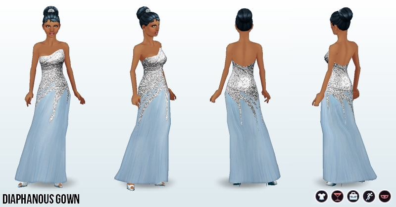 Image - IcePrincessClothing - Diaphanous Gown.png | Disney City Girl ...