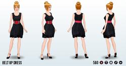 ReturnOfTheWaist - Belt Up Dress