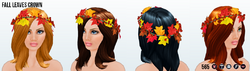CelebrateAutumn - Fall Leaves Crown