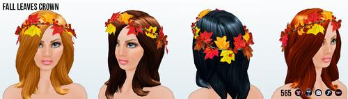 CelebrateAutumn - Fall Leaves Crown