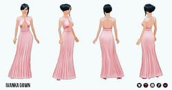 PinkAndPretty - Ivanka Gown