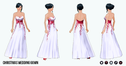 SantaBaby - Christmas Wedding Gown
