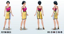 ColorblockSpin - Peyton Dress