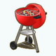 SummerPicnic - Red BBQ Grill