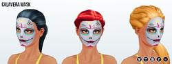 DiaDeLosMuertosSpin - Calavera Mask