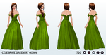 CelebrateGreenerySpreeSpin - Celebrate Greenery Gown