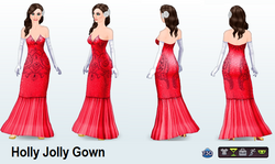 Holly Jolly Gown