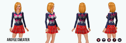 Preppy - Argyle Sweater