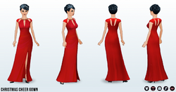 ChristmasCheer - Christmas Cheer Gown