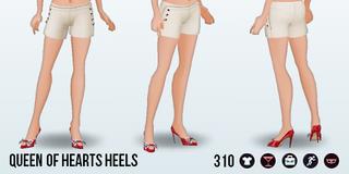 FabulousLasVegas - Queen of Hearts Heels