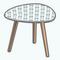 MojitoMoodsDecor - Three Legged Side Table