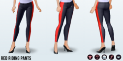 RedAndBlack - Red Riding Pants