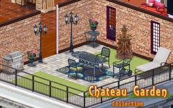 Chateau Garden Decor Collection