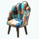 PackRatDay - Patchwork Chair